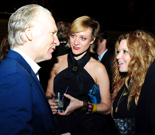 Bill Maher, Chloe Sevigny and Natasha Lyonne