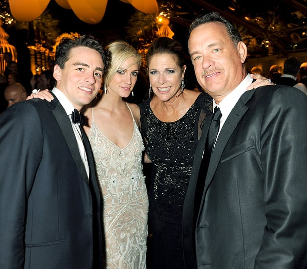 Vincent Piazza, Ashlee Simpson, Rita Wilson and Tom Hanks