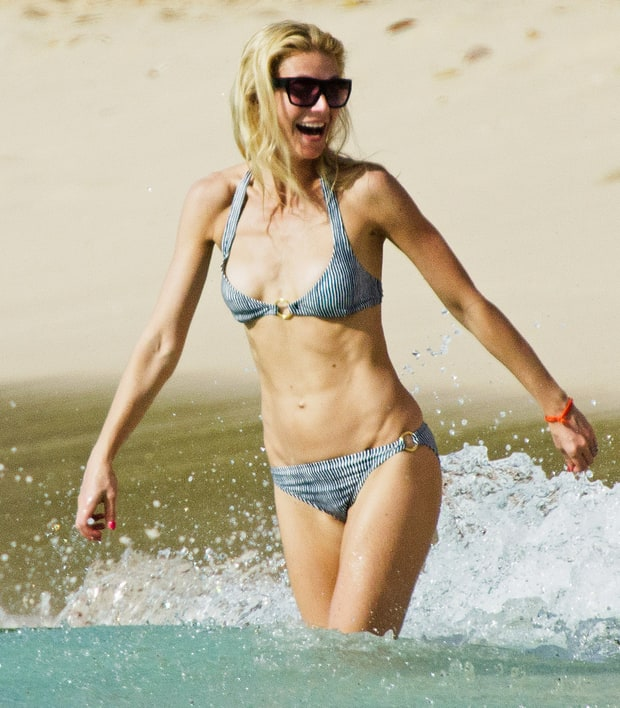 February 19 2011 Gwyneth Paltrow S Amazing Bikini Body