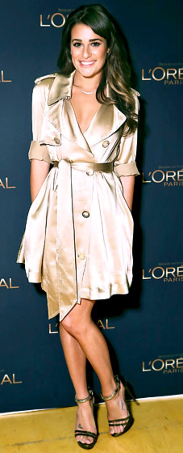 Lea Michele: L'Oreal Paris Event