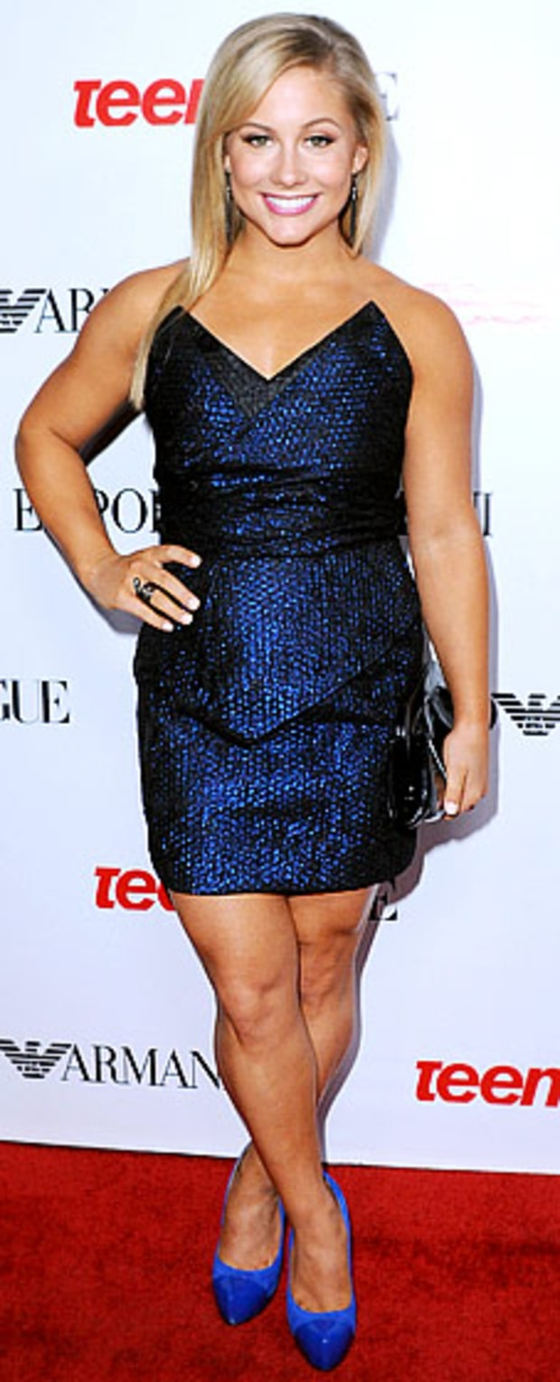 Shawn Johnson: Teen Vogue's 10th Anniversary Young Hollywood Party
