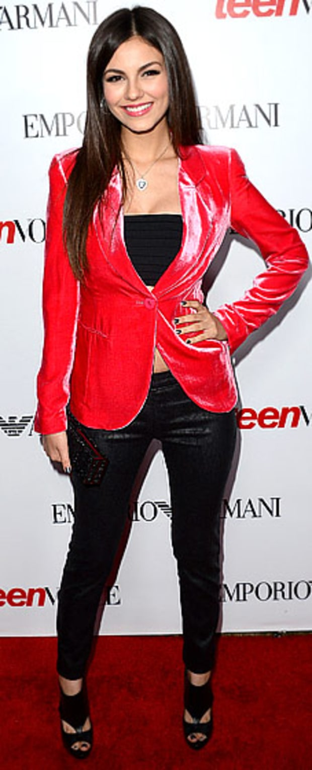 Victoria Justice: Teen Vogue's 10th Anniversary Young Hollywood Party