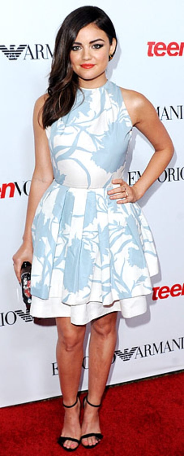 Lucy Hale: Teen Vogue's 10th Anniversary Young Hollywood Party