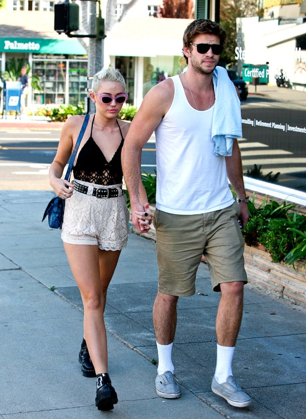 Miley and Her Man