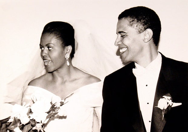 october 3 1992 barack obama and michelle obamas 20th