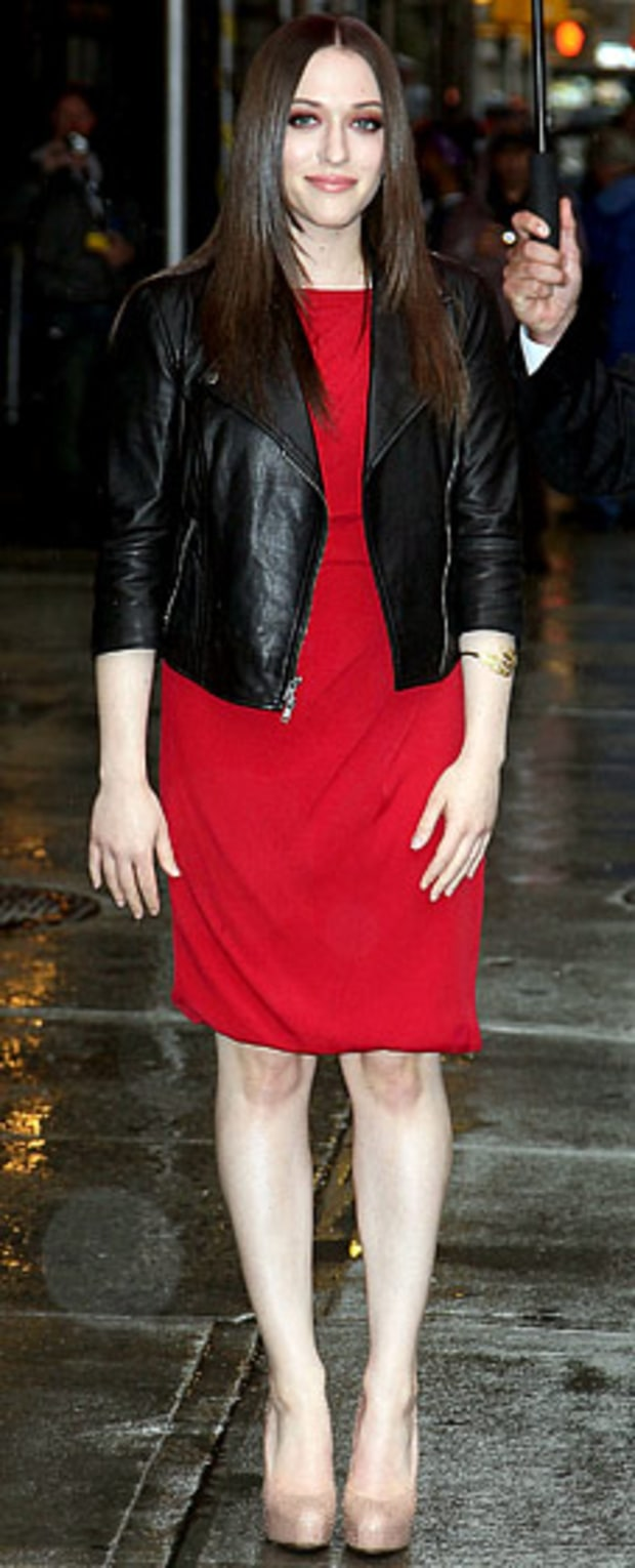 Kat Dennings: Late Show With David Letterman