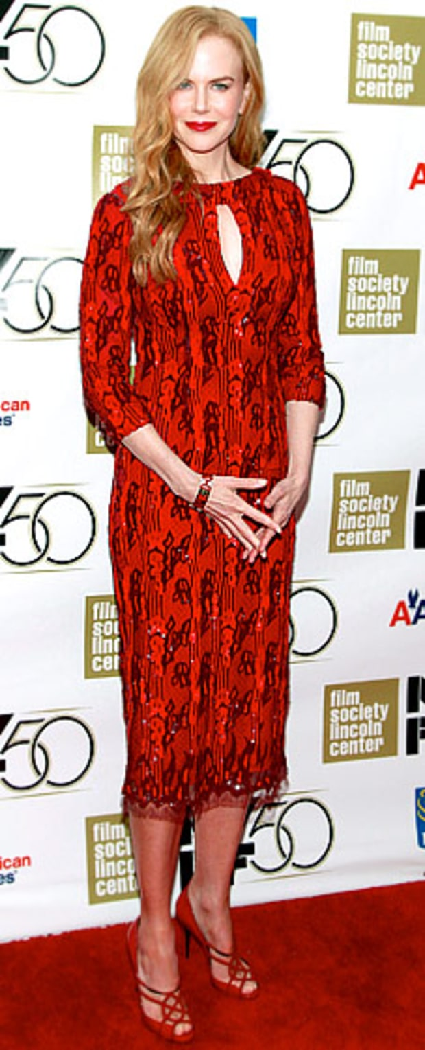 Nicole Kidman: New York Film Festival Gala Tribute
