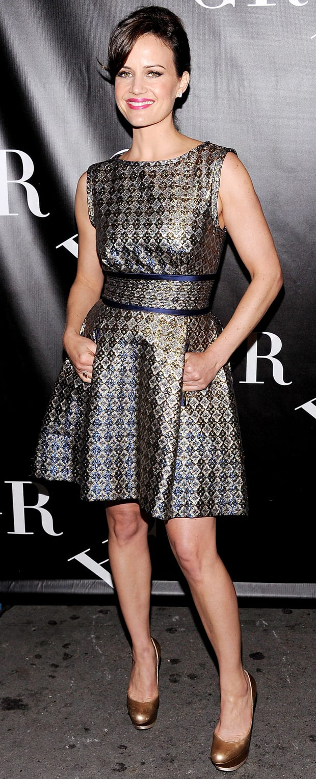 Carla Gugino: Grace Opening Night