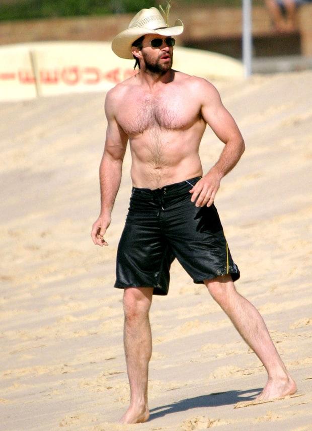 April 15, 2007 | Hugh Jackman's Hunky Beach Bod | Us Weekly