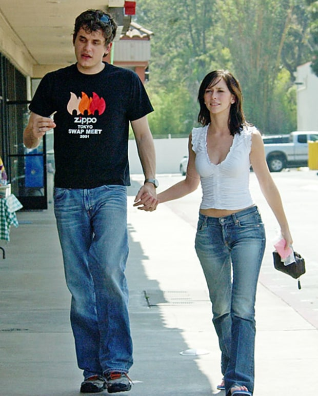 Jennifer Love Hewitt and john mayer