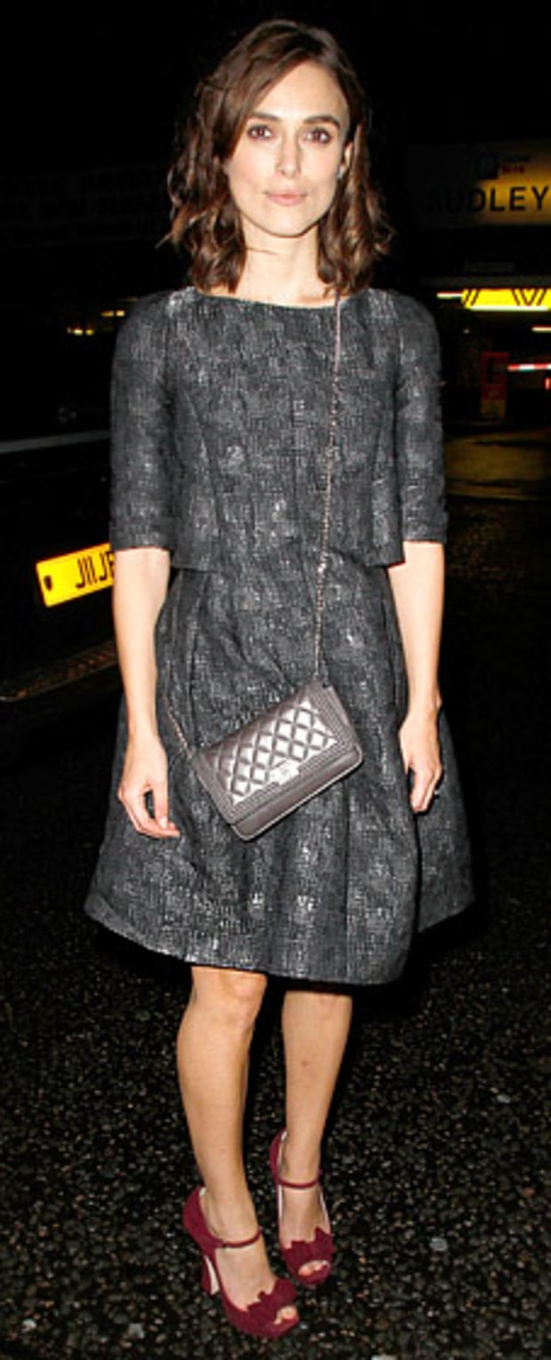 Keira Knightley: Chanel Dinner