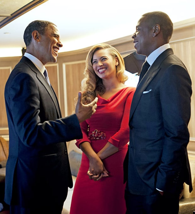 Jay-Z and Beyonce (Democrats)