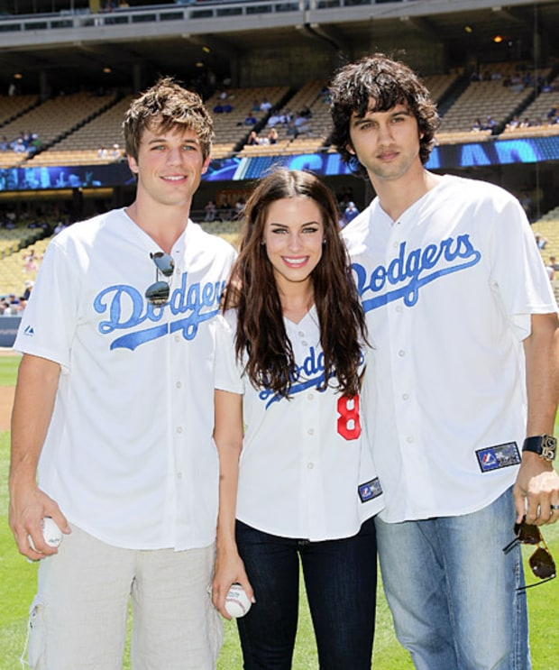 Matt Lanter, Jessica Lowndes and Michael Steger