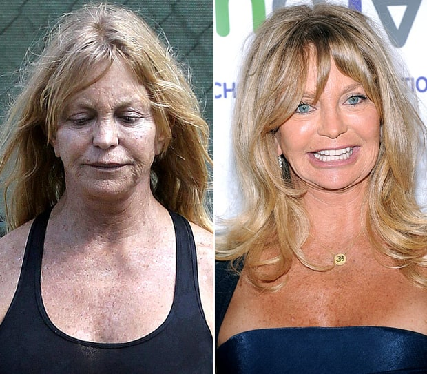 Goldie Hawn Natural Beauty Stars Without Makeup Us Weekly