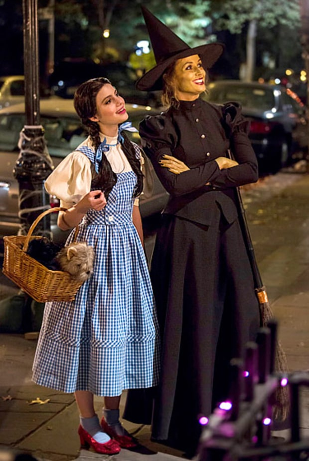 Sami Gayle and Bridget Moynahan