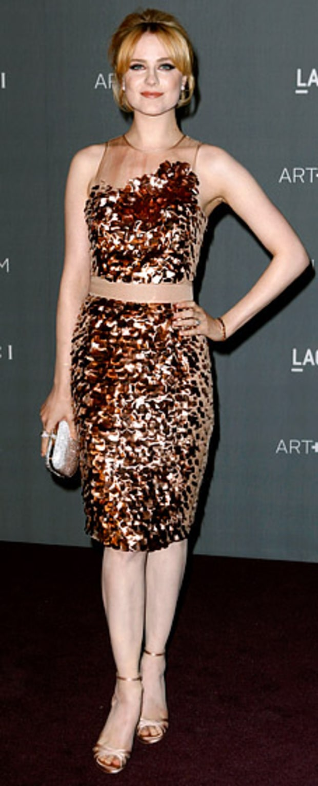 Evan Rachel Wood: LACMA 2012 Art + Film Gala