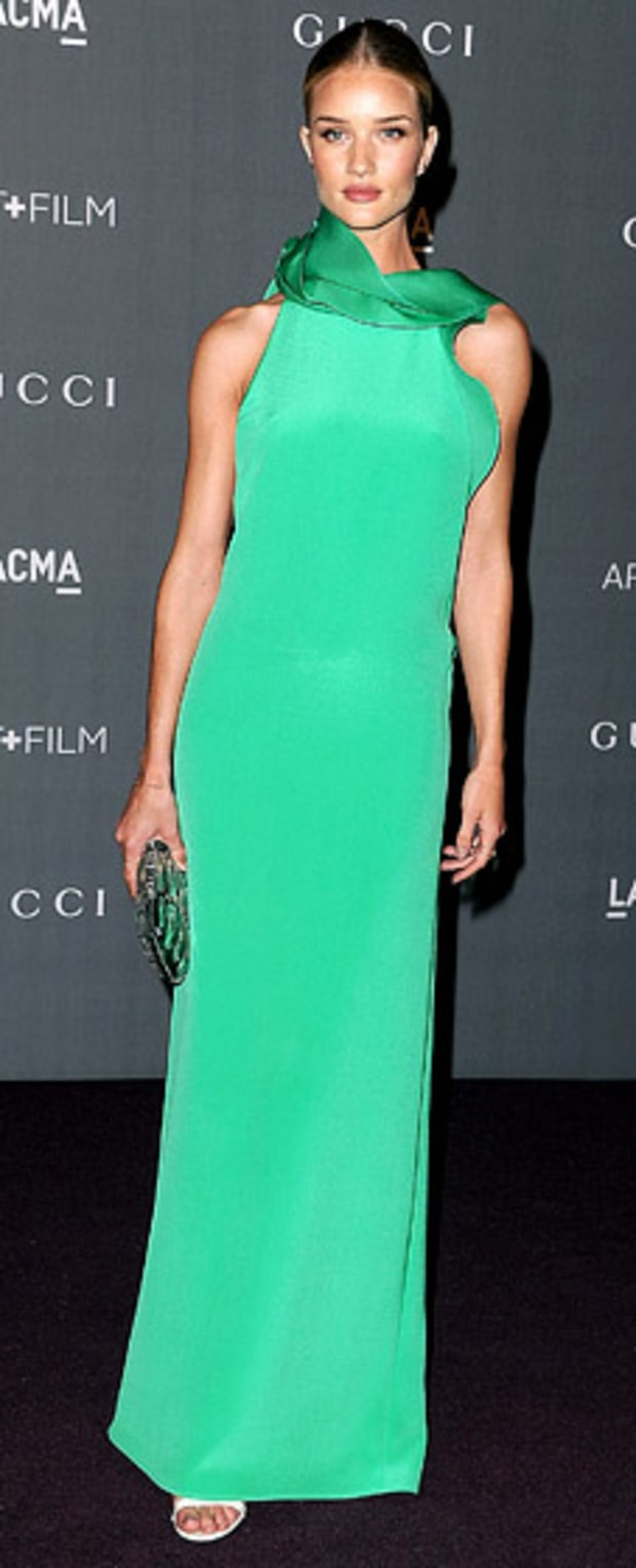 Rosie Huntington-Whiteley: LACMA 2012 Art + Film Gala
