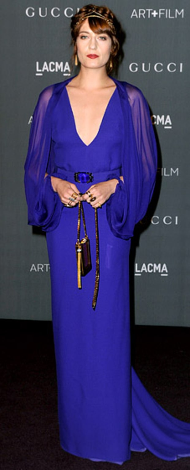 Florence Welch: LACMA 2012 Art + Film Gala