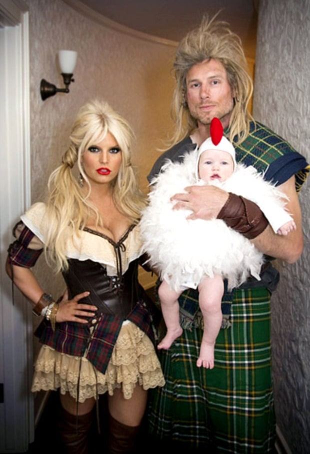 Jessica Simpson, Eric Johnson and baby Maxwell