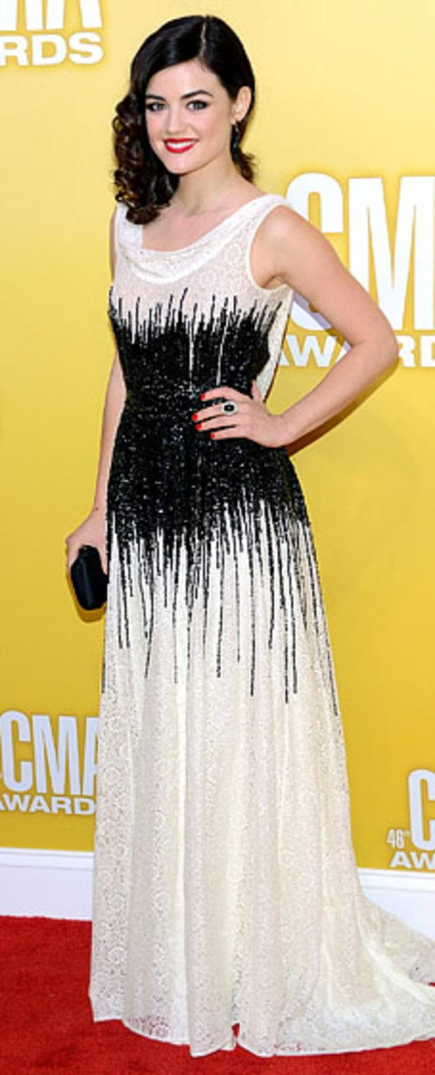 Lucy Hale: 2012 CMA Awards