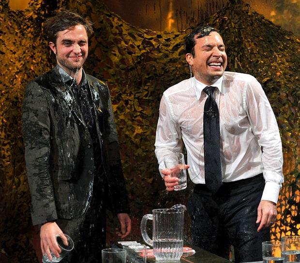 Robert Pattinson, Jimmy Fallon: Water War