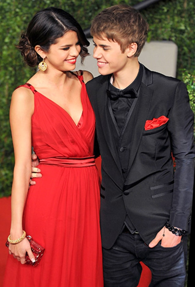 selena gomez and justin bieber pictures when they were dating