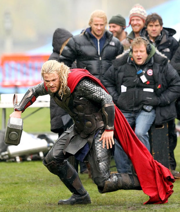 Thor Throws Down