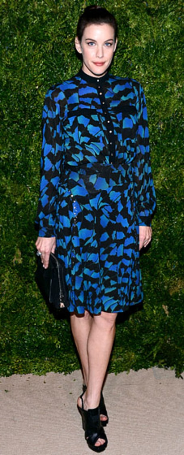 Liv Tyler: 9th Annual CFDA/Vogue Fashion Fund Awards