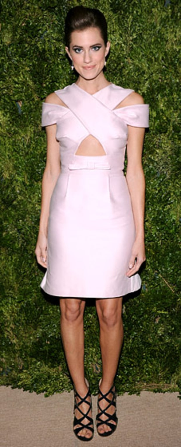 Allison Williams: 9th Annual CFDA/Vogue Fashion Fund Awards