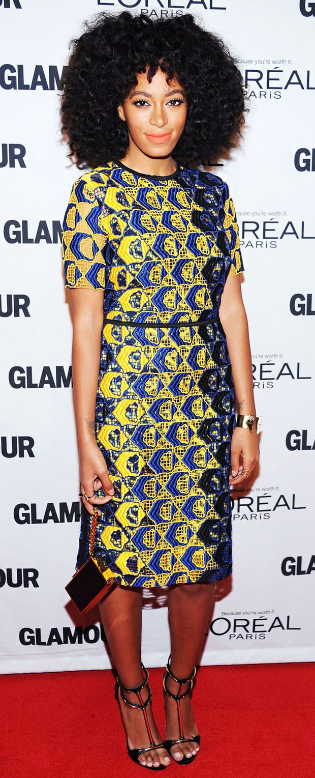 Solange Knowles: Glamour Women of the Year Awards