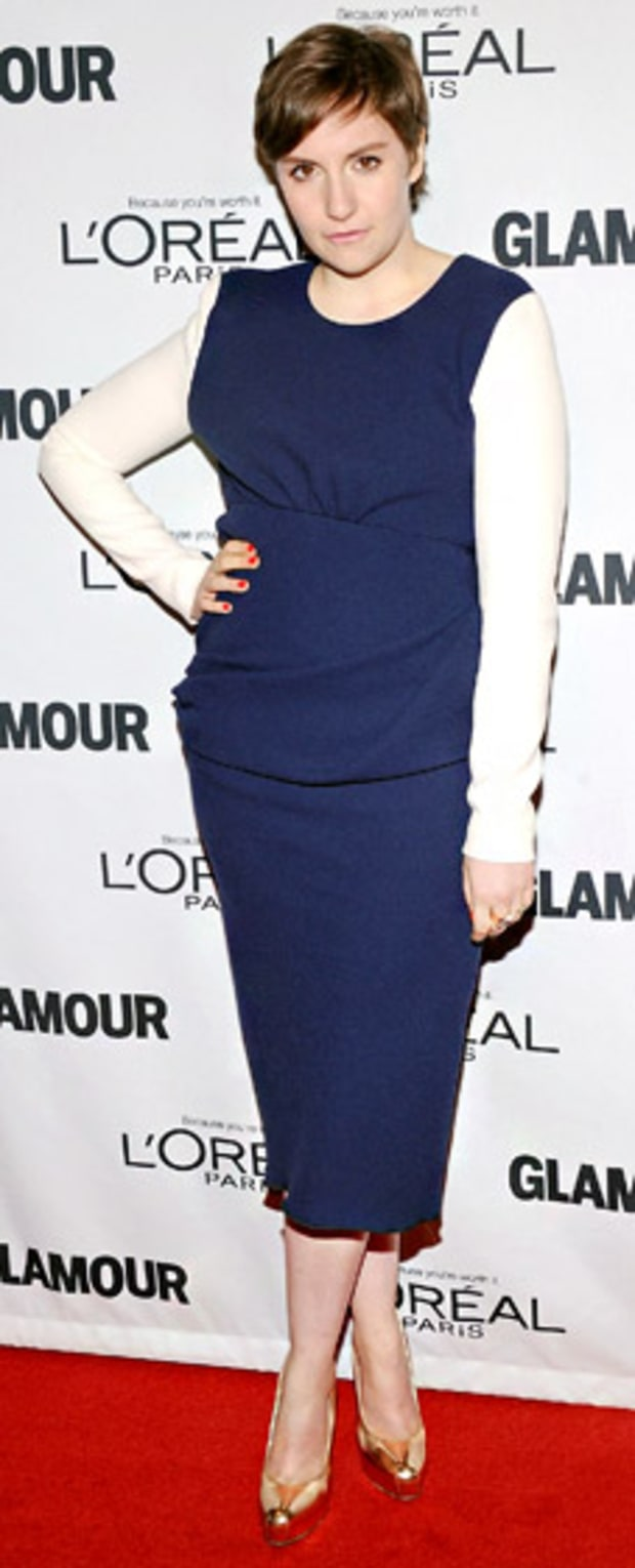 Lena Dunham: Glamour Women of the Year Awards