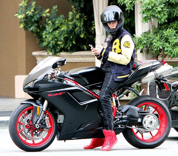 The Biebs' Hot Wheels