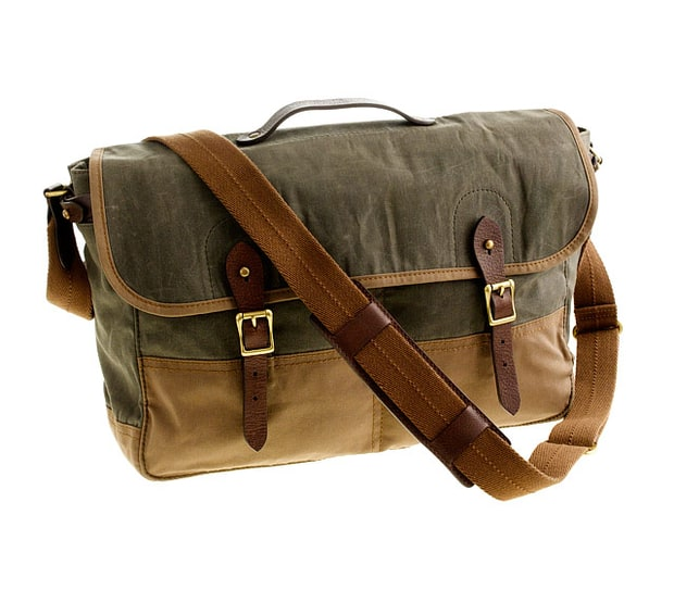 J. Crew messenger bag