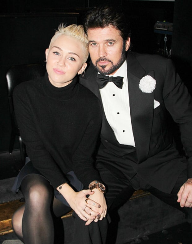 Miley's Proud of Daddy