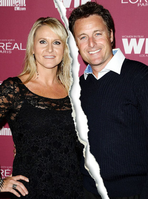 Chris Harrison and Gwen Jones