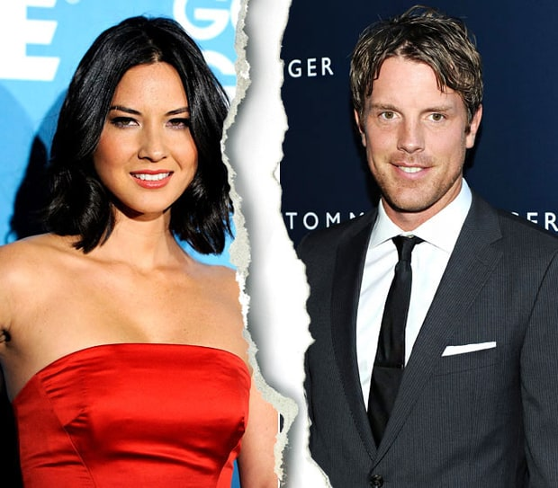 Olivia Munn and Brad Richards