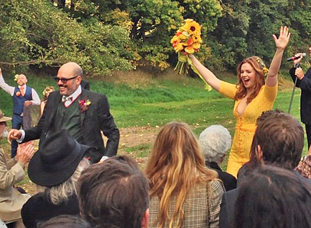 Amber Tamblyn and David Cross