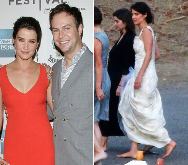 Cobie Smulders and Taran Killam | Celebrity Weddings 2012 ...