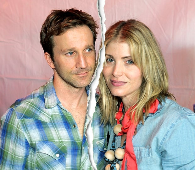 Breckin Meyer and Deborah Kaplan