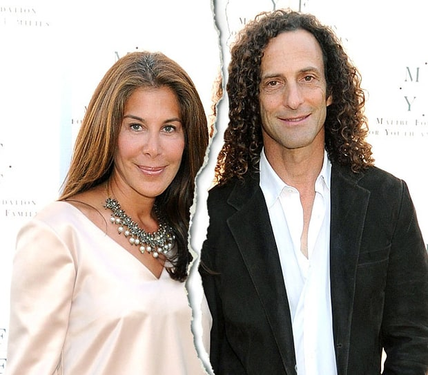 Kenny G and Lyndie Benson