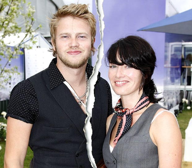Lena Headey and Peter Loughran
