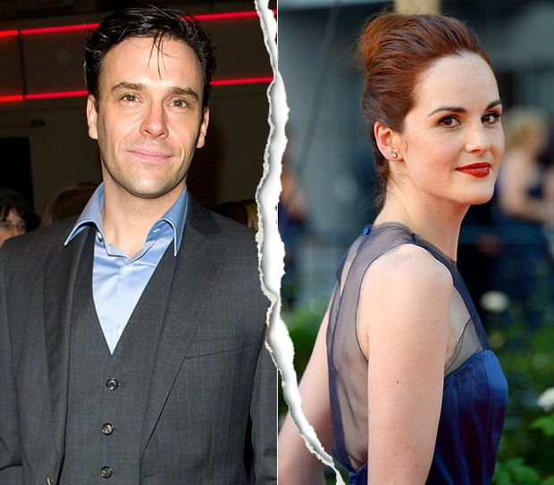 Joseph Millson and Michelle Dockery
