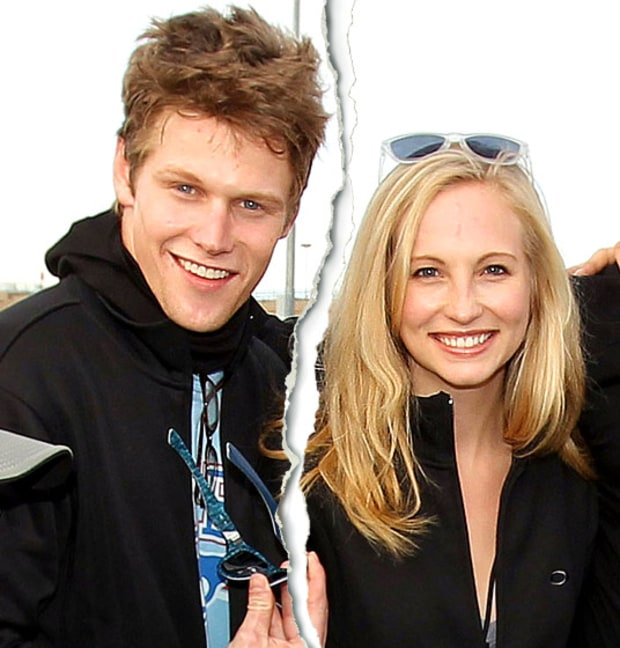 Zach Roerig and Candice Accola