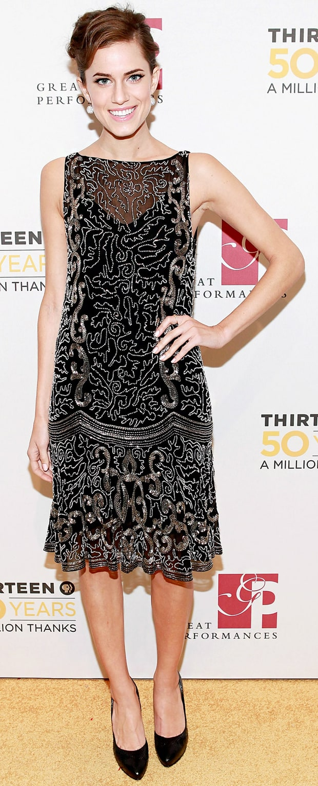 Allison Williams: THIRTEEN 50th Anniversary Gala Salute