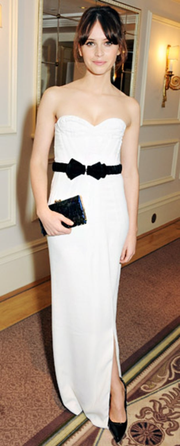 Felicity Jones: 58th London Evening Standard Theatre Awards