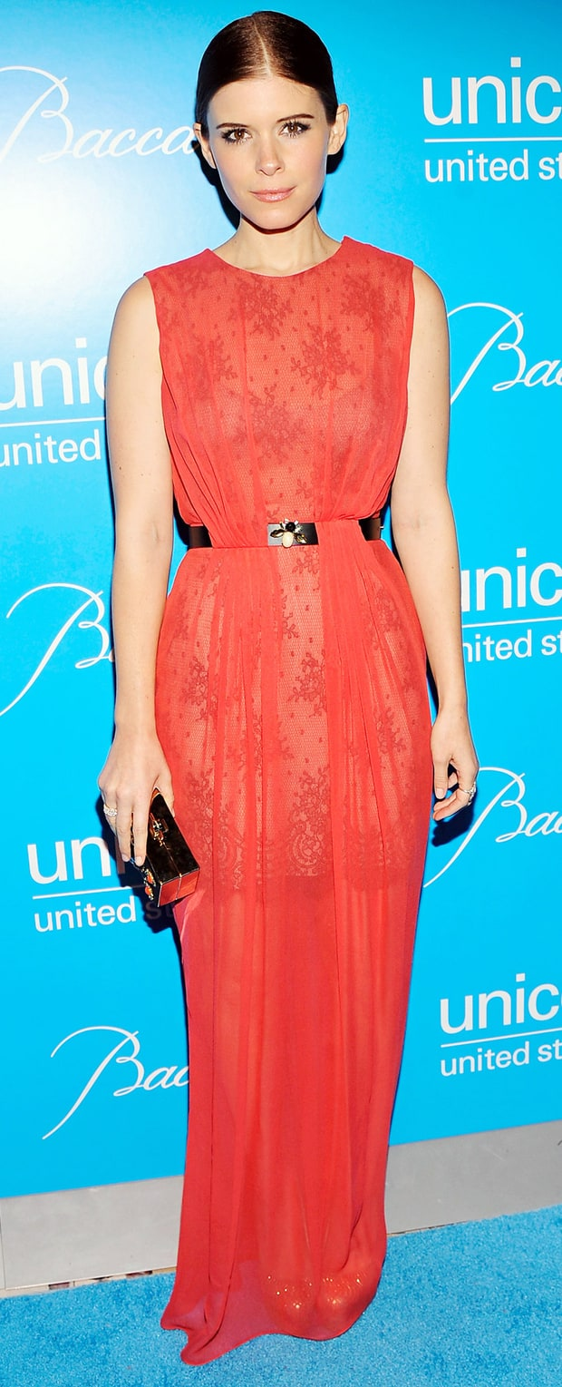 Kate Mara: Unicef SnowFlake Ball