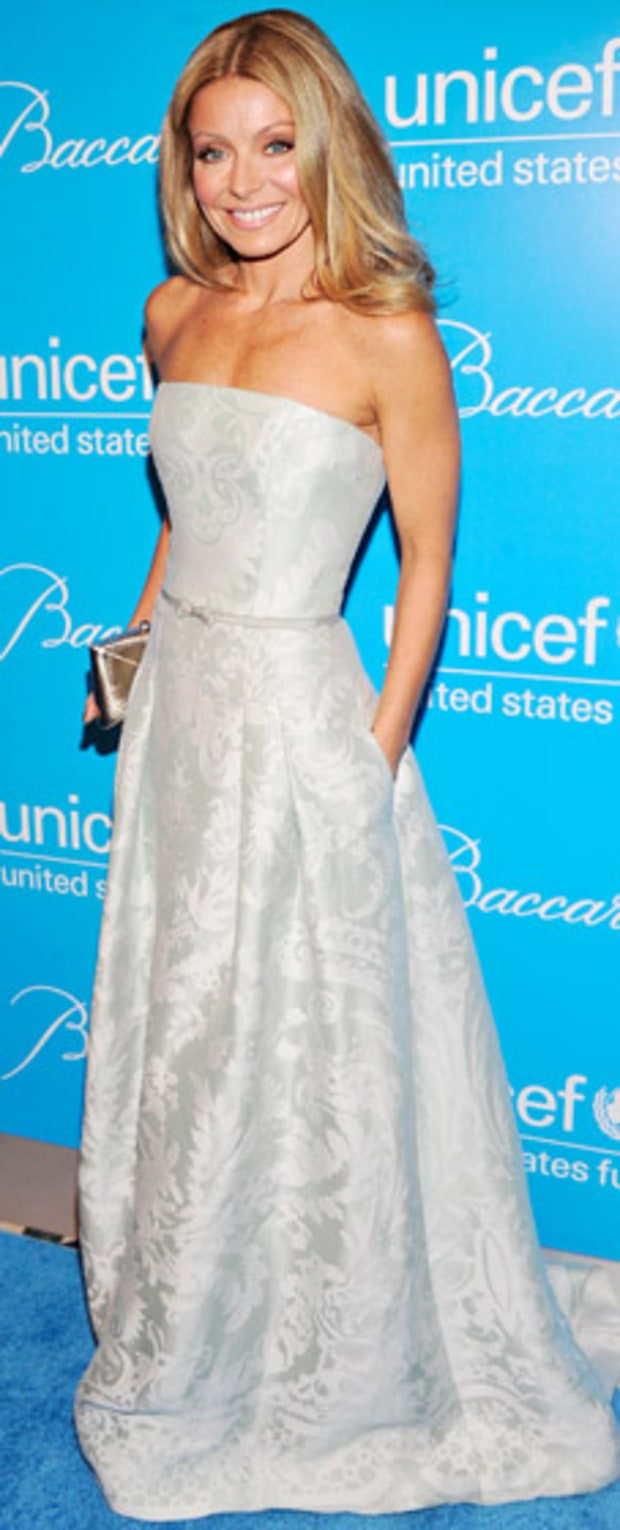 Kelly Ripa: Unicef SnowFlake Ball