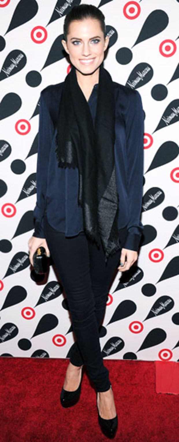 Allison Williams: Target + Neiman Marcus Holiday Collection Launch
