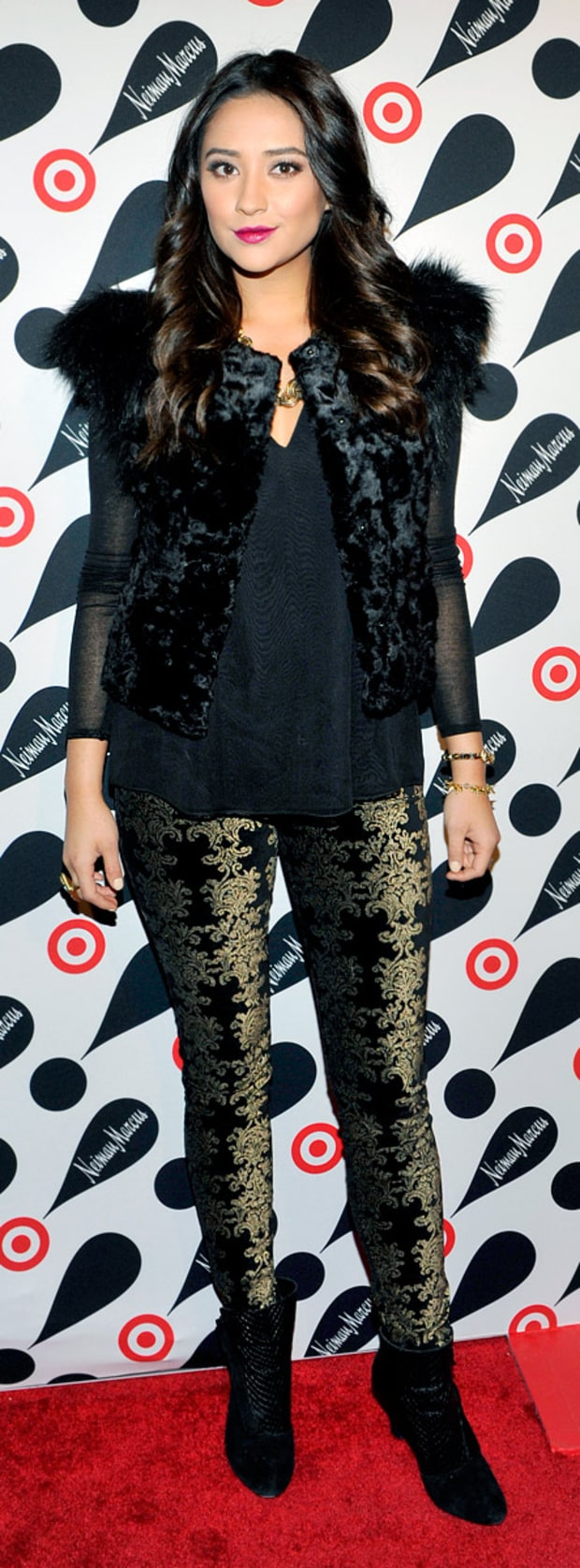 Shay Mitchell: Target + Neiman Marcus Holiday Collection Launch