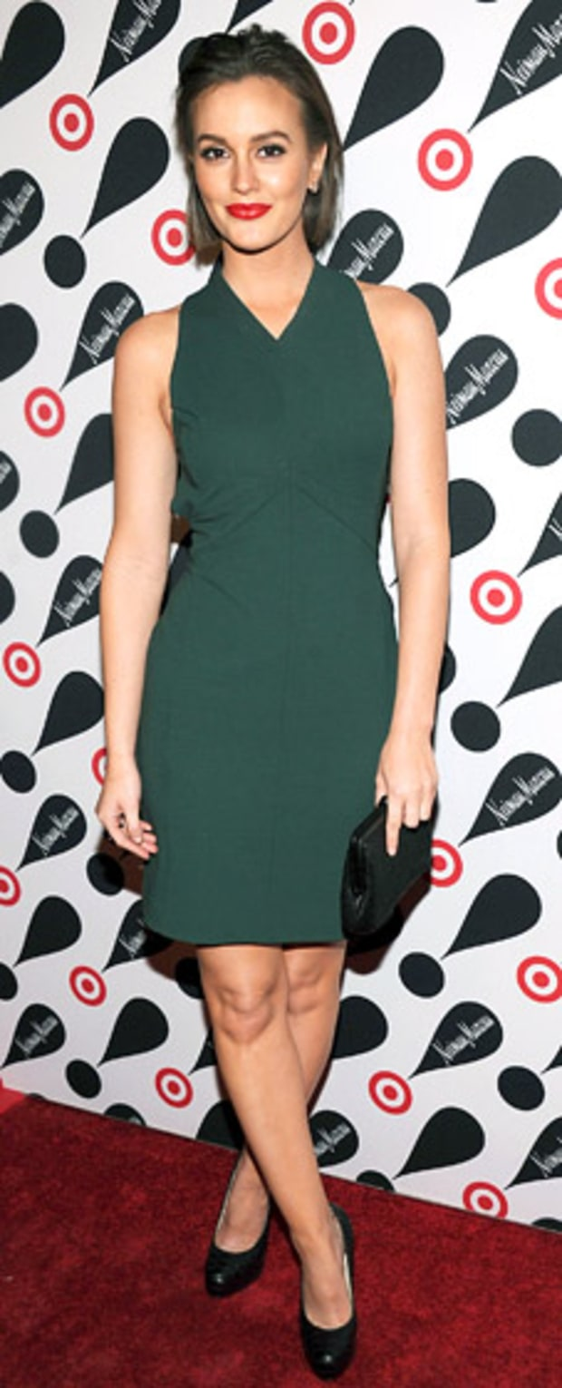 Leighton Meester: Target + Neiman Marcus Holiday Collection Launch
